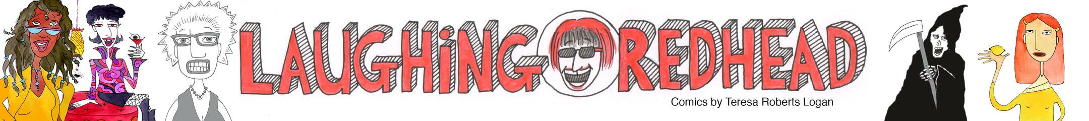 Laughing Redhead Comics