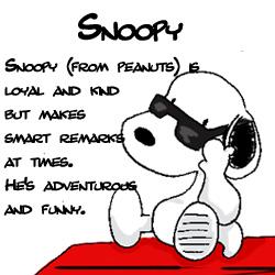 Answer snoopy