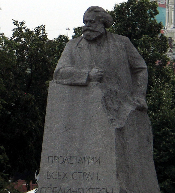 Marx statue in square across from bolshoi.sized