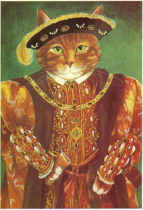 Cats henry the tudor cat