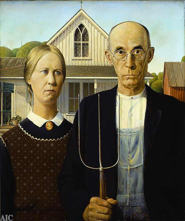 American gothic  from art institute