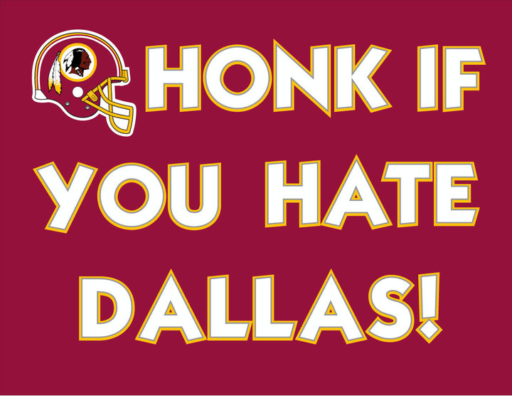 Honk if you hate dallas