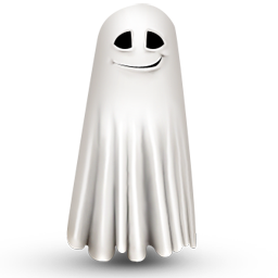 Shy ghost icon 256