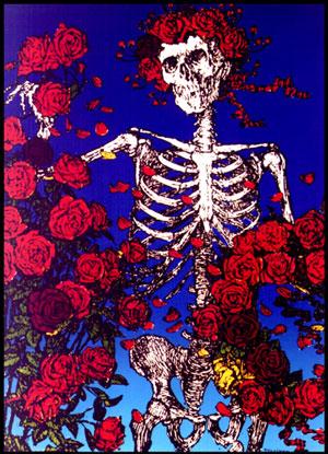 Skeleton roses