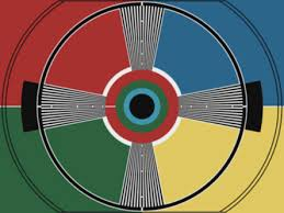 Tv test pattern  color