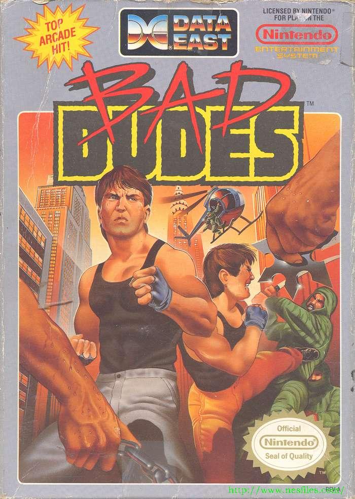 Bad dudes boxfront
