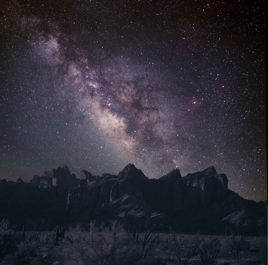Milky way rocks