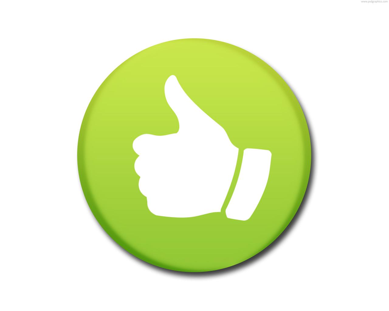 Green thumb up