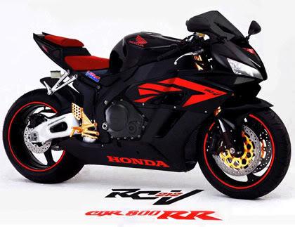 Honda motorcycle line rider