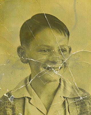 Ron aged 10