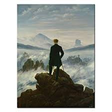 Wanderer auf nebelmeer