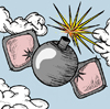New bomb logo sherpa