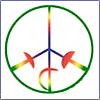 Peace icon 100x