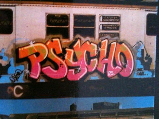 Psycho train tag
