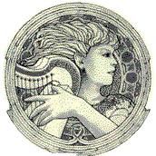 Harpgirl circle