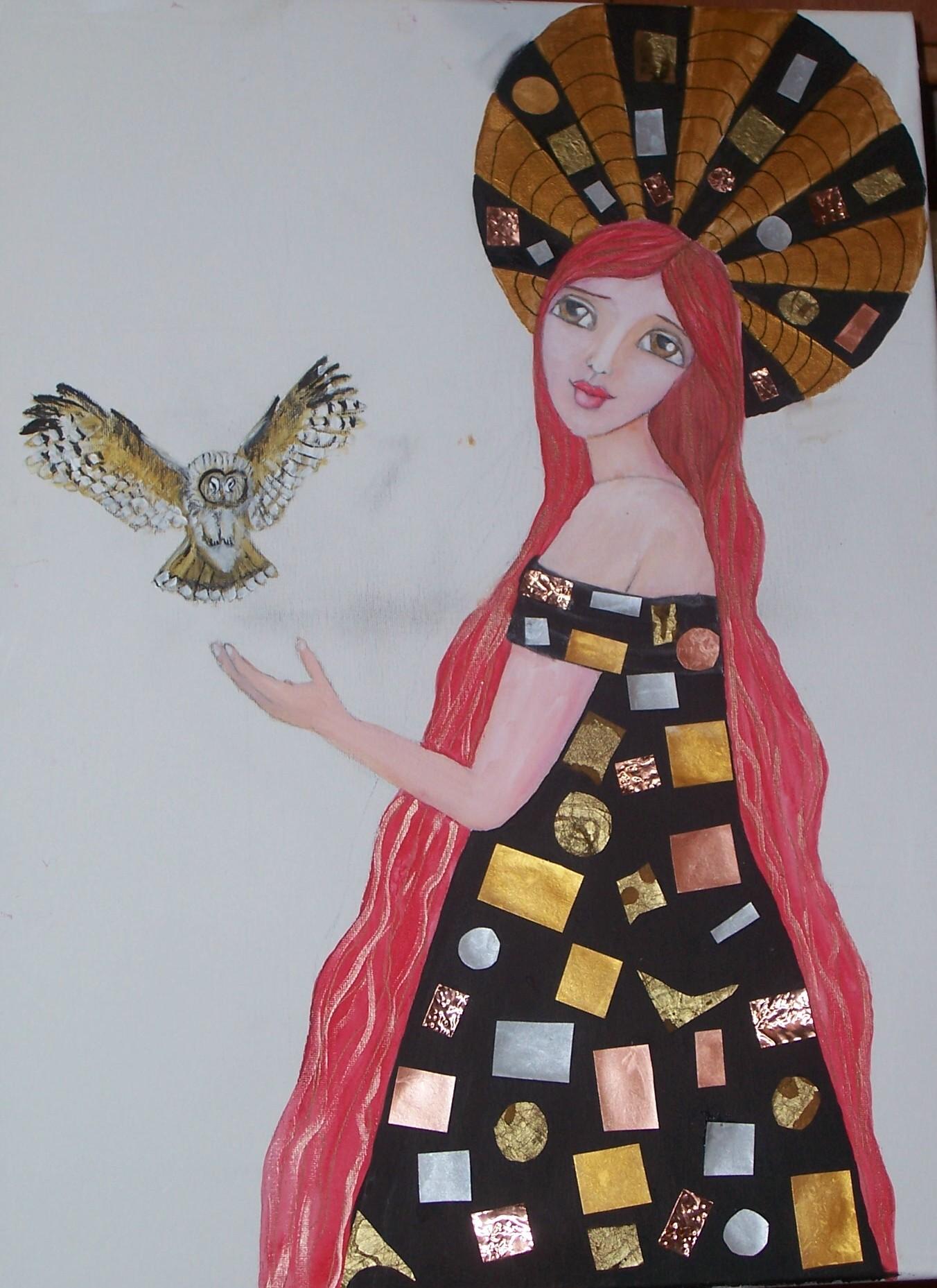Owl goddess 1