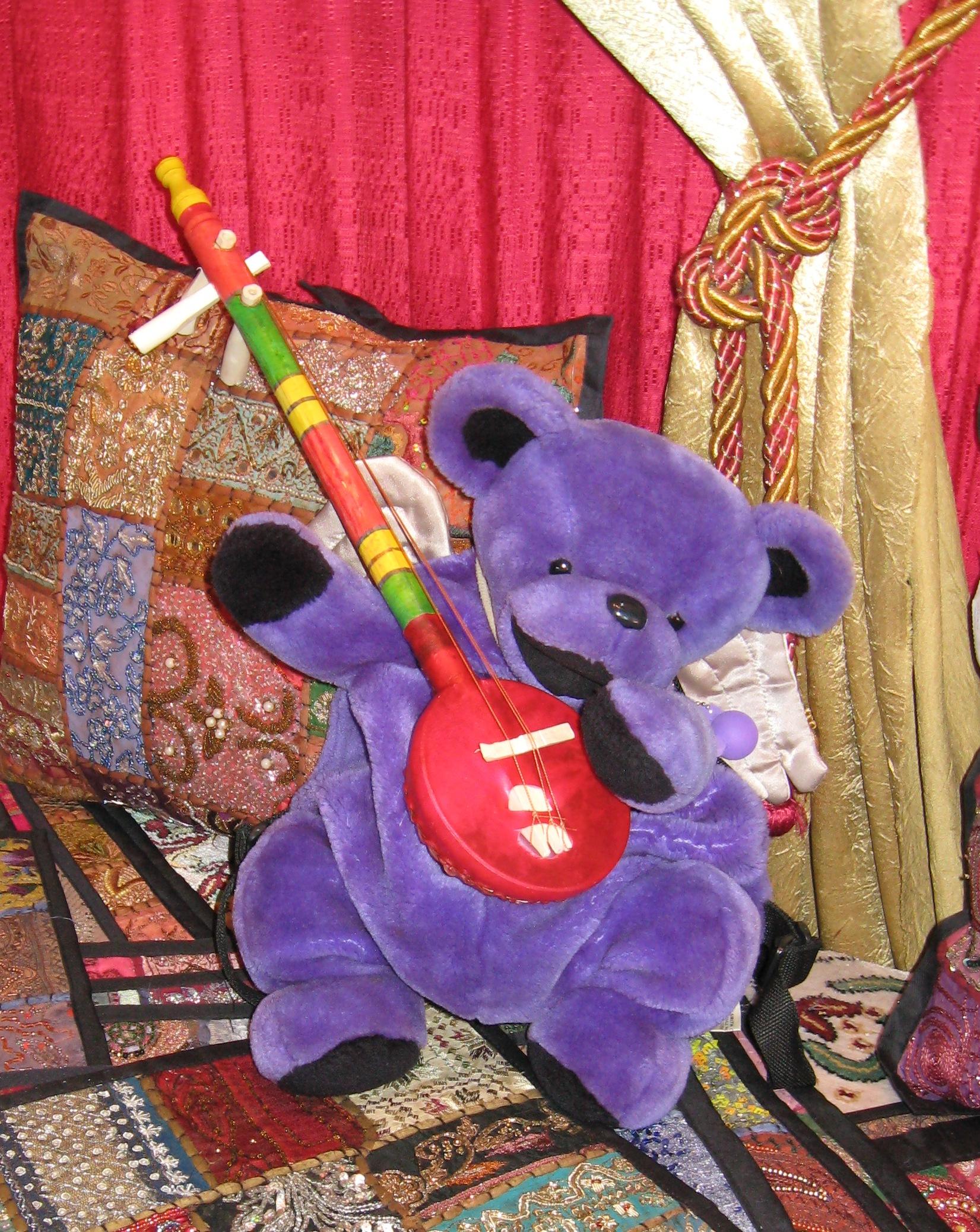 Disney epcot morroco market music and the bear