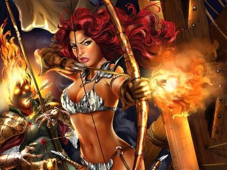 Archer goddess