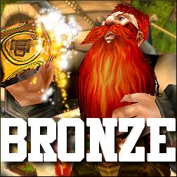 Bronze finished