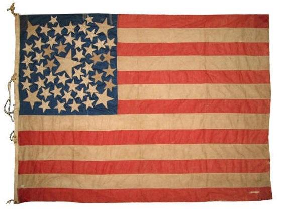 Flag usa 50 exotic