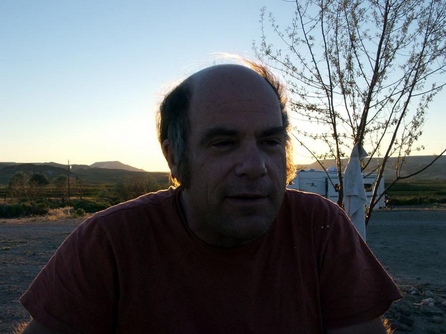 Greg backlit