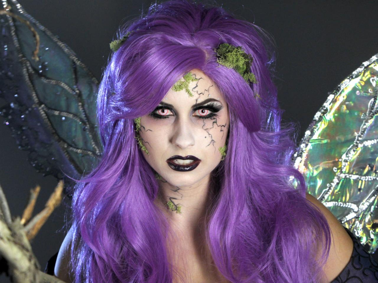 Purple hair fairy