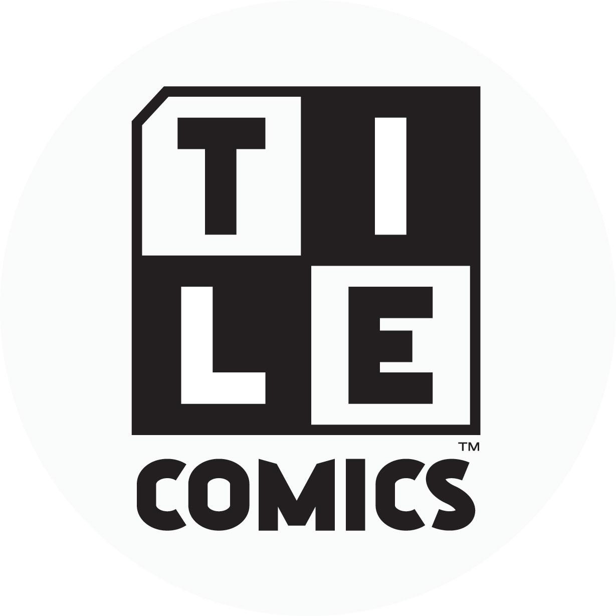 Tile comics logo