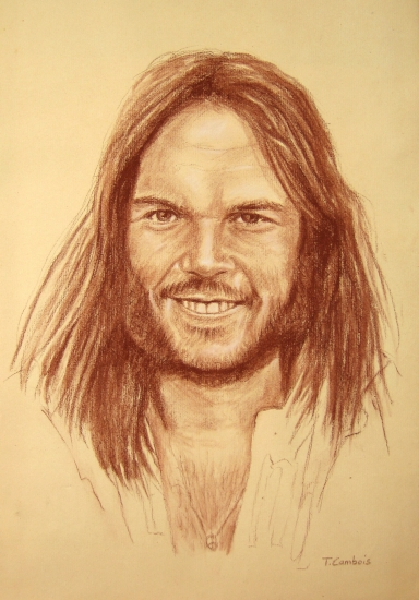 Neil young by tom art