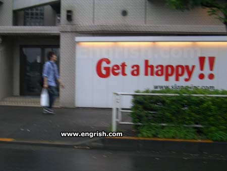 Get a happy