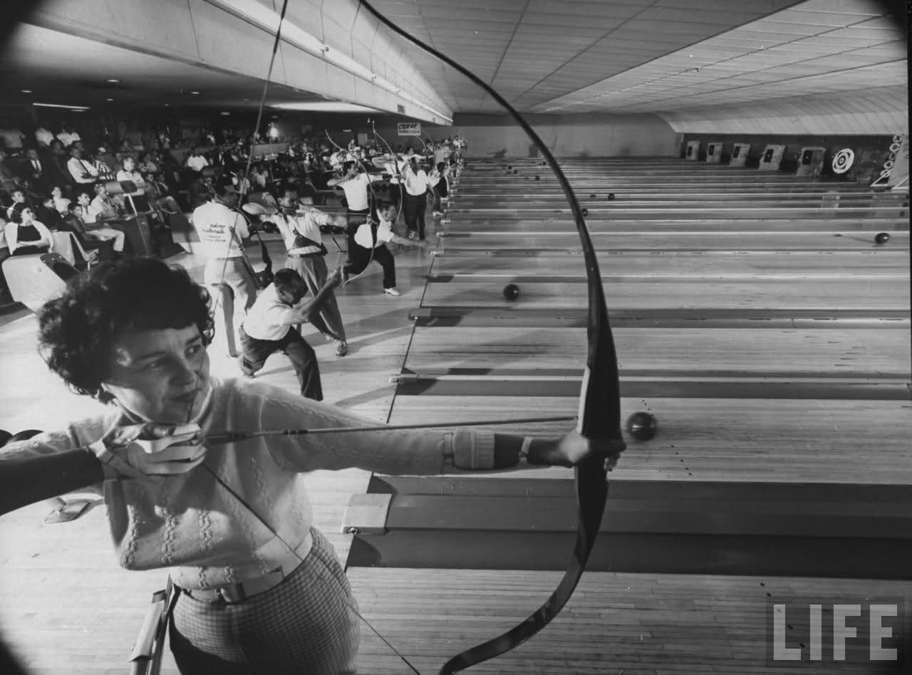 Archery bowling