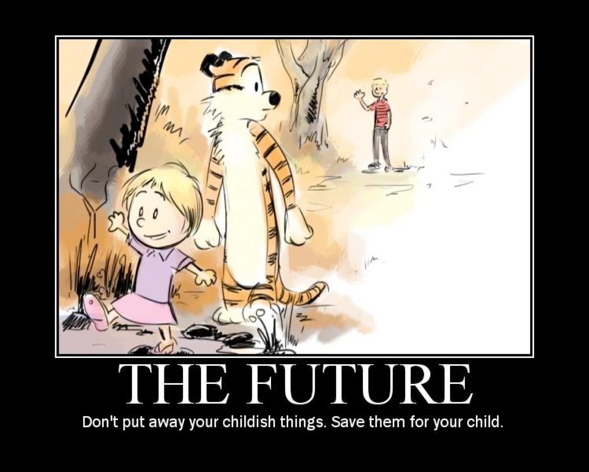 Calvin and hobbes  the future