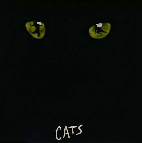 Cats black eyes only