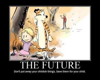 Calvin and hobbes in the future