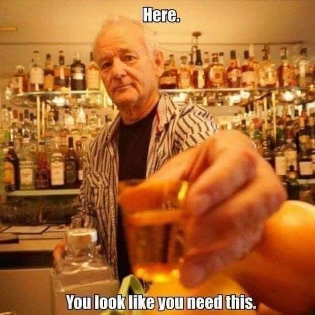 Bill murray drink