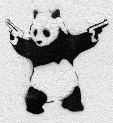 Gun panda