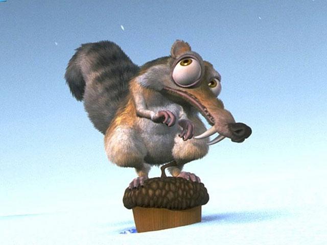Squirrel ice age
