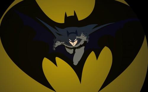Batman from the symbol 500x312