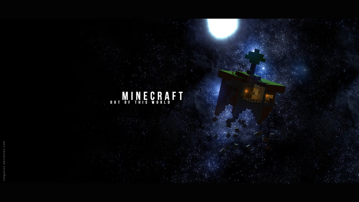 Minecraft wallpaper space hd
