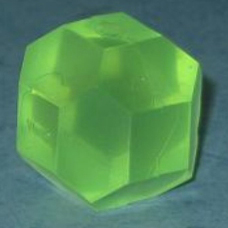 Green d18 sided dice