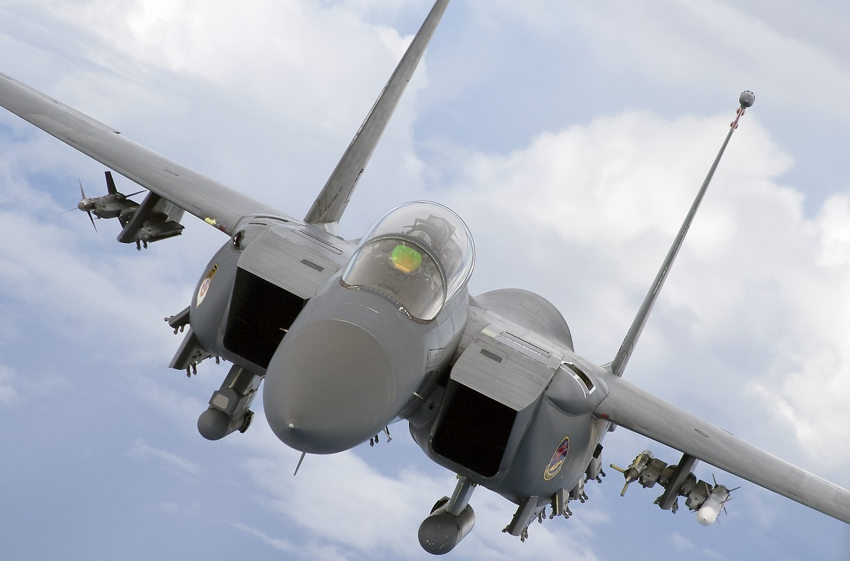 F15e head on