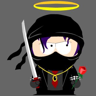 Goth ninja south park avatar