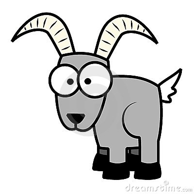 Cartoon goat 13360139