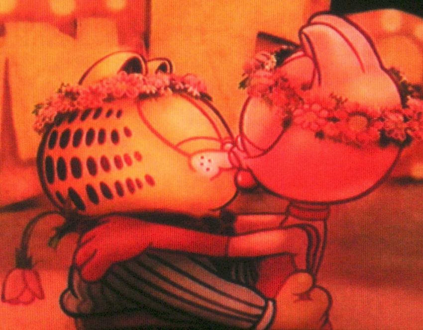 Garfield and arlene   finally reunited 2008