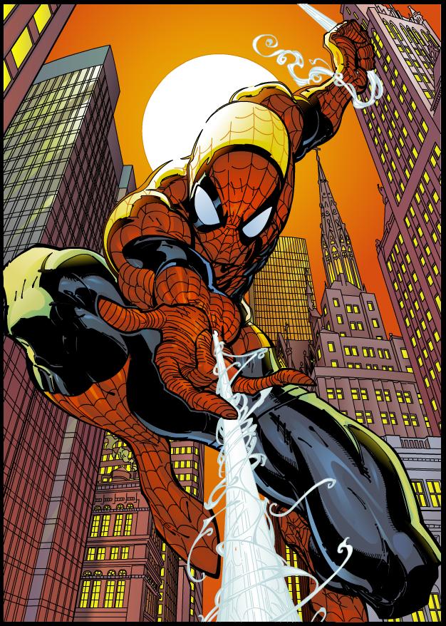 Comic art 03 spiderman