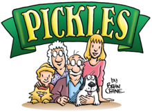 Pickles comic strip cast