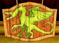 200px the green dragon sign