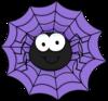 Large spider web