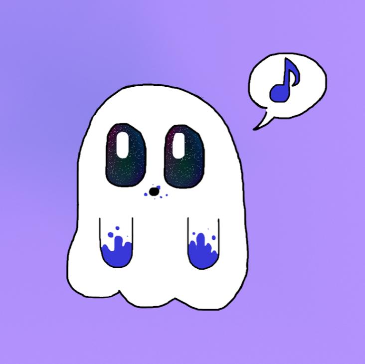 Caroline s cute blackberry ghost