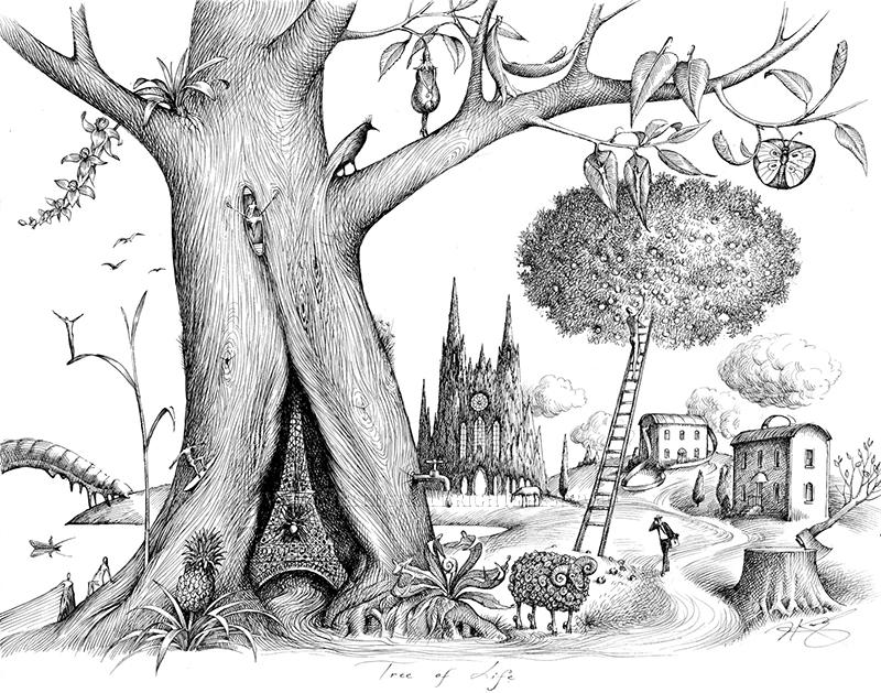 Tree of life le