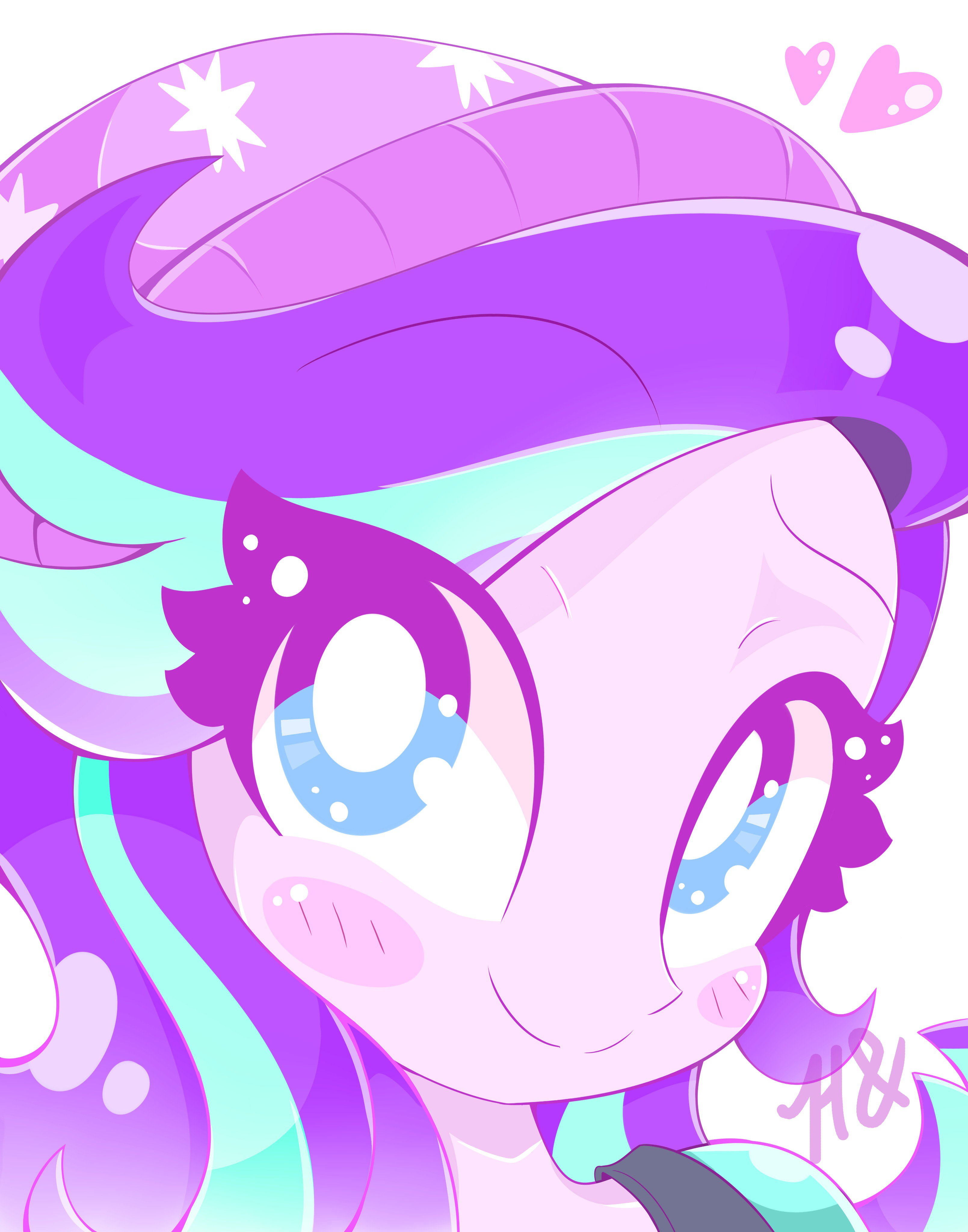 1547243  safe artist colon hungrysohma16 starlight glimmer equestria girls mirror magic movie magic spoiler colon eqg specials beanie blushing bust cut